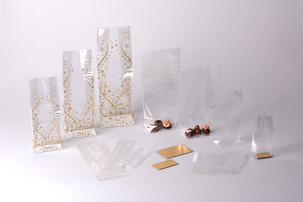 Sachets transparents